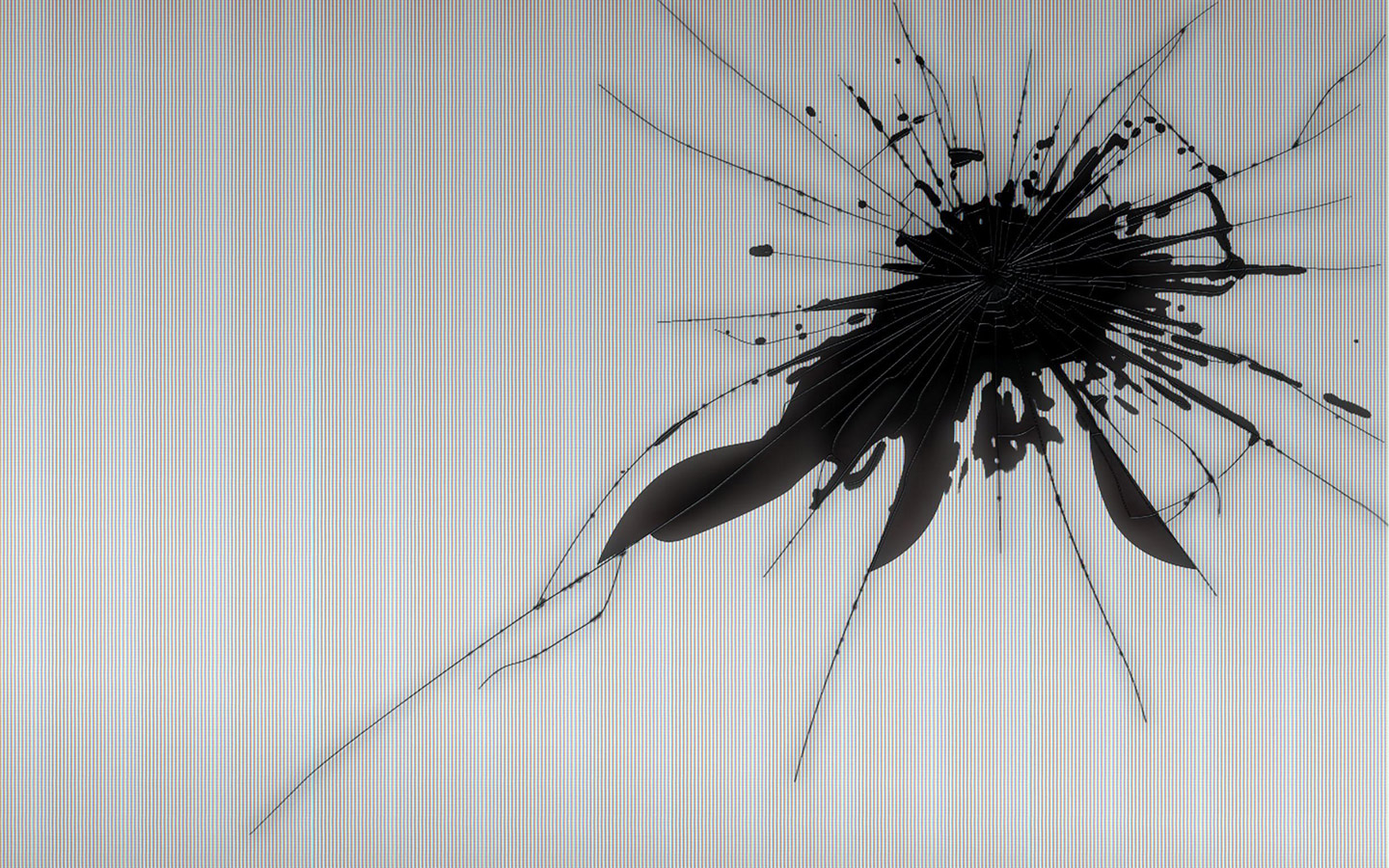 Broken, Screen, Wallpaper, Ps3