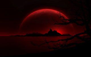 Dark Red Wallpaper
