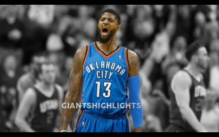 Paul George OKC Thunder Wallpaper