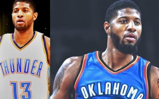 Paul George OKC Thunder Wallpaper HD