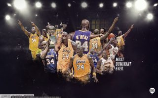 Shaquille Oneal Lakers Wallpaper