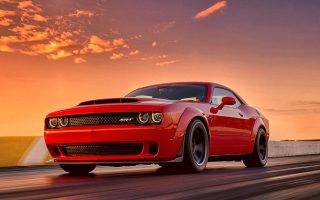 2018 Dodge Demon Wallpaper HD