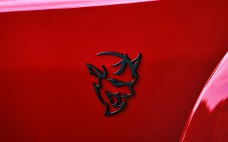 2018 Dodge Logo Demon Wallpaper