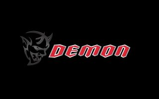 2018 Dodge Logo Demon Wallpaper HD