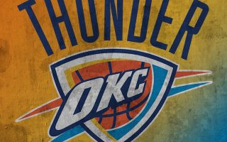 OKC Thunder Iphone Wallpaper