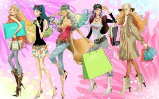 Cute Girly Fashion Wallpaper for Desktop