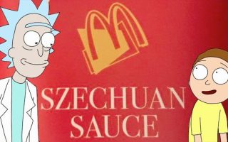 Rick and Morty Szechuan Sauce Wallpaper
