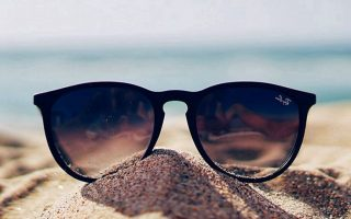 Sunglasses Sand Wallpaper For Mobile