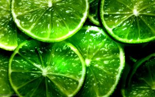 Wallpaper Green Citrus