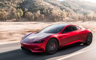 2020 Tesla Roadster HD Wallpaper