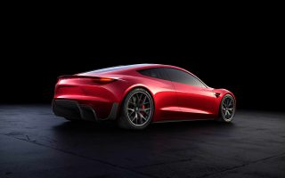 2020 Tesla Roadster Image Wallpaper