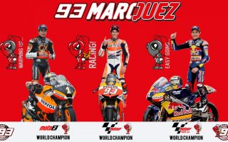 Marc Marquez World Champions Wallpaper