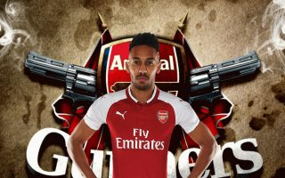 HD Aubameyang Arsenal Wallpaper