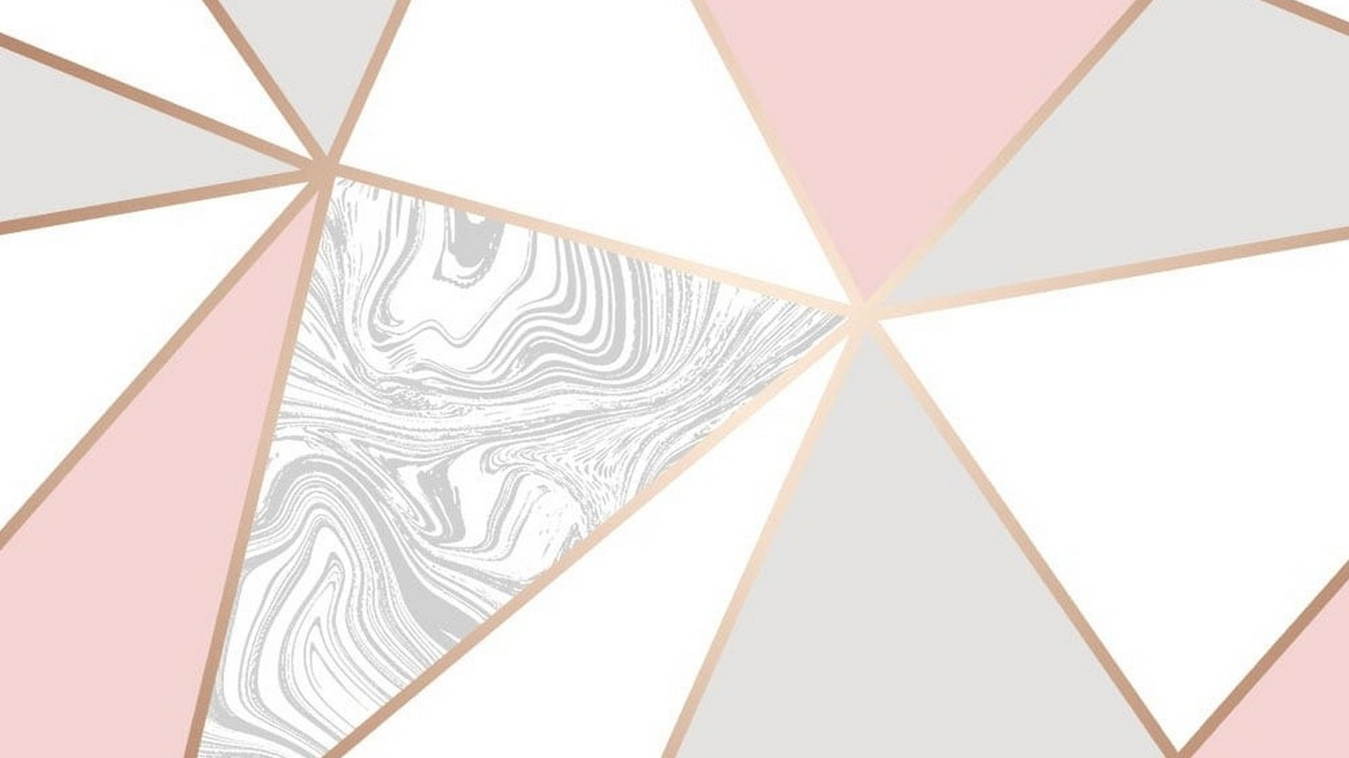 Rose Gold Marble Desktop Backgrounds 1920x1080