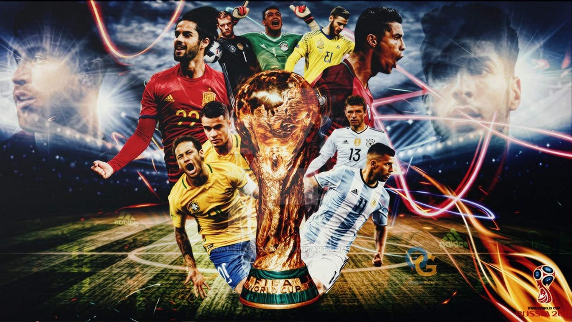 Wallpaper HD 2018 World Cup 1920x1080