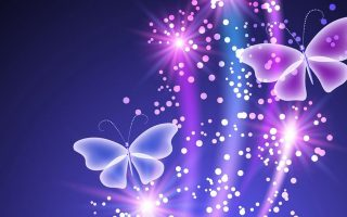 Purple Butterfly HD Backgrounds With Resolution 1920X1080